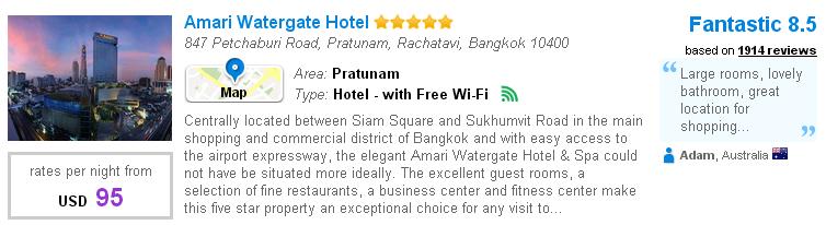 Platinum Mall - Amari Watergate Hotel
