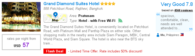Platinum Mall - Grand Diamond Suites Hotel
