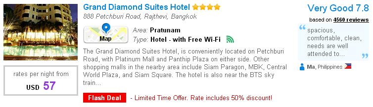 Platinum Mall - Grand Diamond Suites Hotel